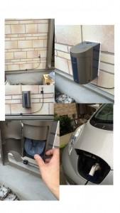 EV給電コンセント